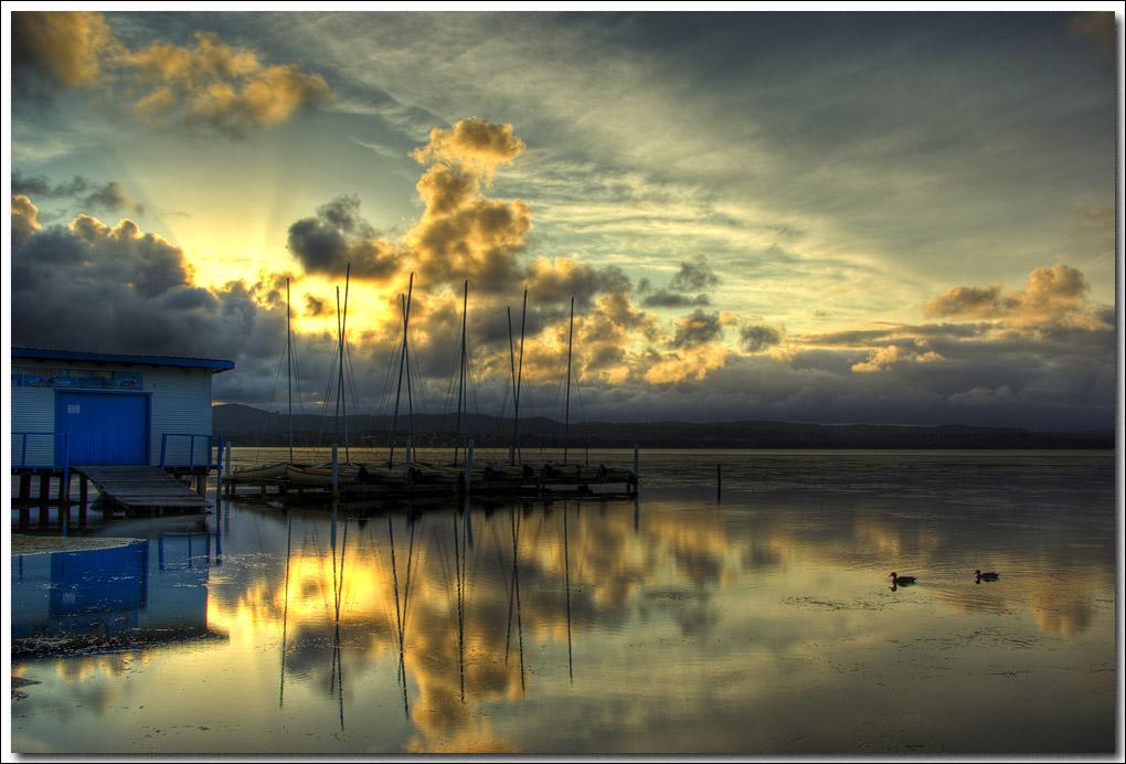 Sunset at Long Jetty