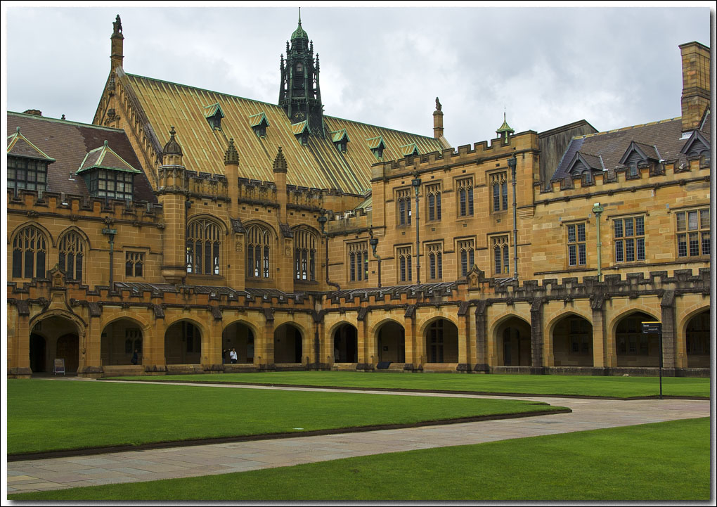 The Quadrangle.